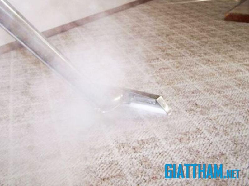 Dịch vụ giặt thảm giá rẻ, giặt thảm bằng hơi nước nóng