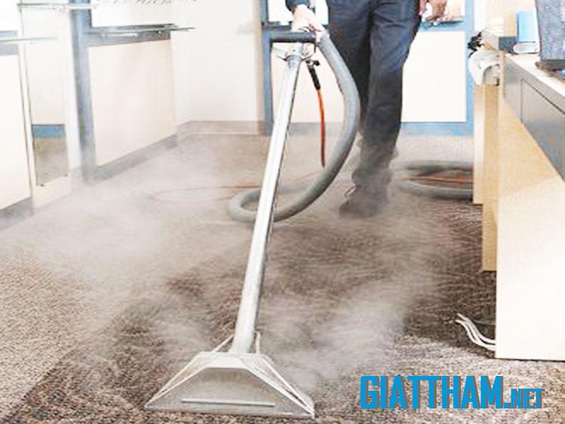 Dịch vụ giặt thảm văn phòng sạch của Thái Hưng