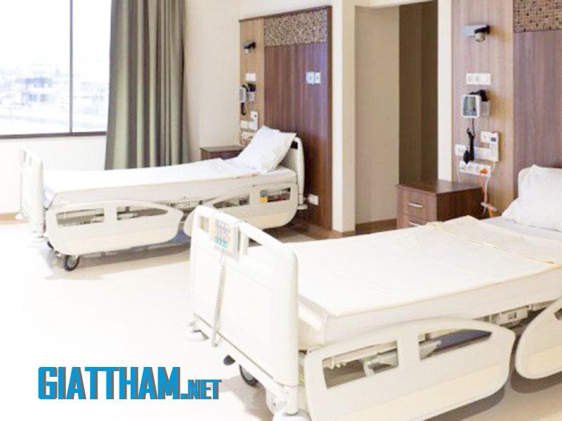 đệm tại 1 bệnh viện ở Hà Nội sau khi được vệ sinh bởi nhân viên Thái Hưng