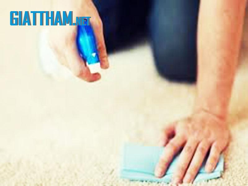 Mẹo làm sạch thảm
