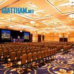 Giặt thảm hội trường, phòng họp, trung tâm hội nghị