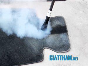 Quy trình giặt thảm chất lượng cao bằng hơi nước nóng